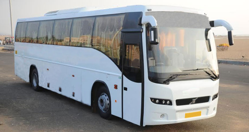 Volvo 45 Seater Ac Bus Rental In Chennai