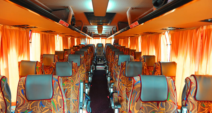 hire 45 seater bus